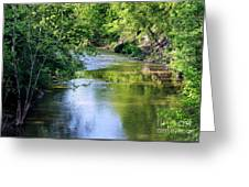 Scenic Sandusky River Greeting Card