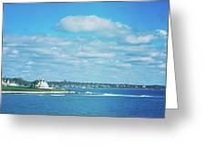 Scenic View Of Atlantic Ocean Greeting Card