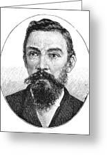 Schalk Willem Burger (1852-1918) Greeting Card