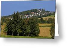 Schauenstein - A Typical Upper-franconian Town Greeting Card
