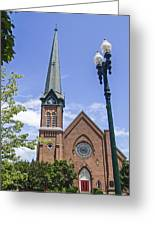 Schenectady Bell Tower Greeting Card