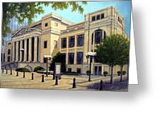 Schermerhorn Symphony Center Greeting Card