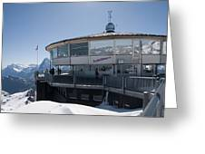Schilthorn Greeting Card by David Yack