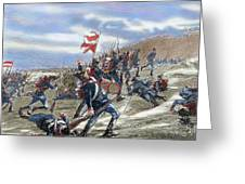 Schleswig-holstein Question. The First Schleswig War Or Three Years War 1848-1851. Fighting Greeting Card