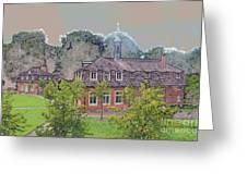 10290 Schloss Clemenswerth 10 Greeting Card