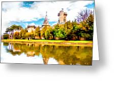 Schloss Laxemburg Greeting Card