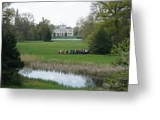 Schloss Woerlitz Greeting Card