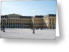 Schoenbrunn Palace In Vienna - Austria Greeting Card