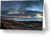 Schoodic Point Sunrise 7218 Greeting Card