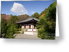 School Building Ryoan-ji Temple Kyoto Greeting Card