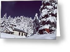 Schoolhouse Greeting Card