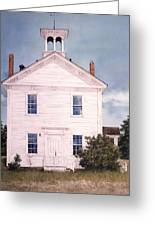 Schoolhouse Greeting Card