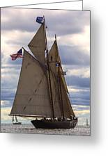 Schooner Virginia Greeting Card