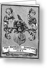 Schuyler Family Arms Greeting Card
