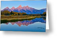 Schwabacher Dawn Greeting Card