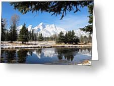 Schwabacher Landing - Grand Teton National Park Greeting Card