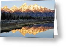Schwabacher Road Grand Teton Nat'l Park Wy Greeting Card