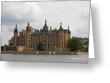 Schwerin Castle Front Aspect Greeting Card