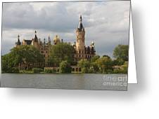 Schwerin Palace - Germany Greeting Card