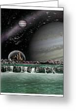Sci-fi Greeting Card