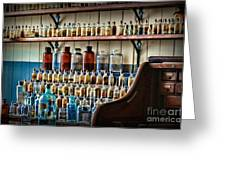 Science - My Chemistry Set Greeting Card by Paul Ward