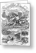 Scientific American, 1867 Greeting Card