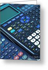 Scientific Calculators Greeting Card by Jose Elias - Sofia Pereira