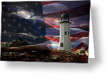 Scituate Strong Protecting American Shoreline Greeting Card