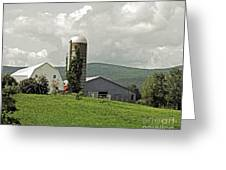 Scoharie New York Farm Greeting Card