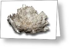 Scolecite Mineral Greeting Card
