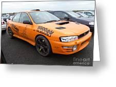 Scooby Subaru Greeting Card