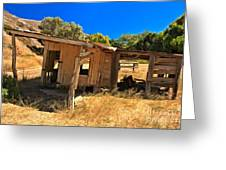 Scorpion Ranch Remnants Greeting Card