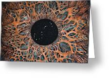 Scorpio Eye Constellation Greeting Card