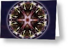 Scorpio Moon Warrior Greeting Card
