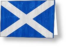 Scotland Flag Greeting Card