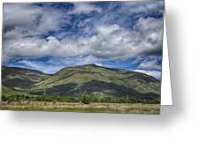Scotland Loch Awe Mountain Landscape Greeting Card