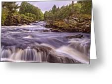 Scotland's Falls Of Dochart - Killin Scotland Greeting Card