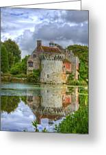 Scotney Castle Reflections Greeting Card