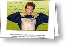 Scot's Poem Greeting Card