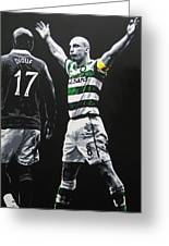 Scott Brown - Celtic Fc Greeting Card