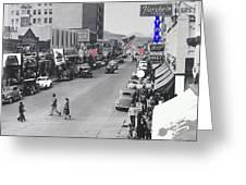 Scott Congress State Theater La Fiesta De Los Vaqueros Rodeo Banners Circa 1939 Tucson Az Greeting Card