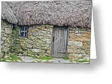 Scottish Farmhouse Greeting Card