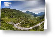 Scottish Highlands Landscape Greeting Card