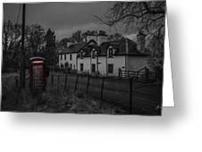 Scottish Inn Greeting Card