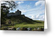 Scottish Castle Ruins Greeting Card