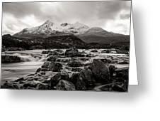 Scottish Skies Greeting Card