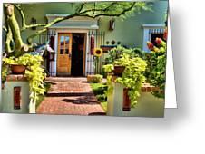 Scottsdale Courtyard Greeting Card