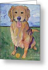 Scout Greeting Card by Pat Saunders-White