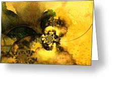 Scream Of Nature Greeting Card