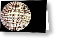 Screen Orb-19 Greeting Card